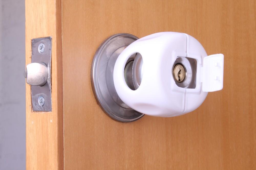 Baby Safety Lock Plastic Door Handle Cover Door Knob Lock Buy