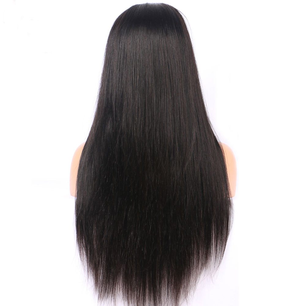 2018 Nieuwe Braziliaanse Virgin Remy Human Hair 150% Dichtheid Full Lace Pruik