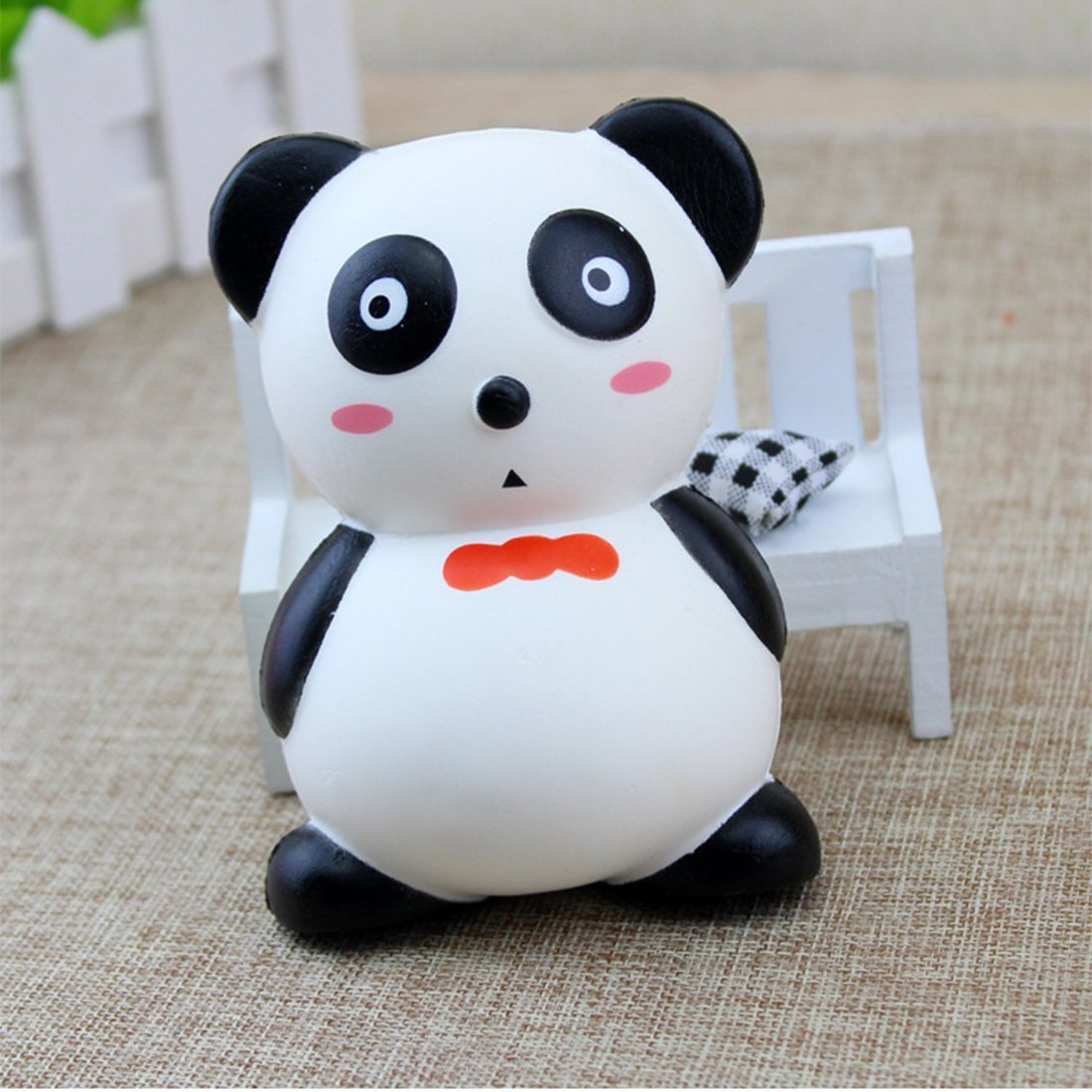 Decompression Toys, Zubita Simulation of Cute Panda Decompression Squeeze Toys Charms Slow Rebound Stress Relief Toys for Kids and Adults