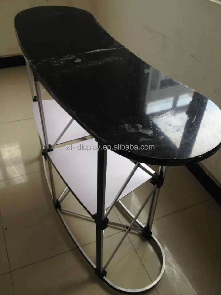 Folding Display Marketing Table Portable Pop Up Promotion
