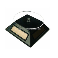Jewelry solar power display stand,solar turntable