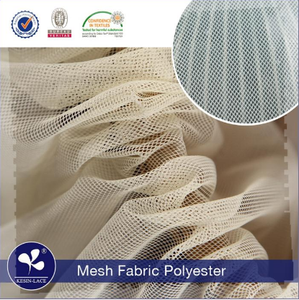 High Quality Fancy Design Kesin M016 Leather Density Polyester mesh fabric