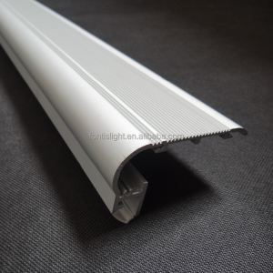 ALP024 aluminum led edge lit profile for stair lights