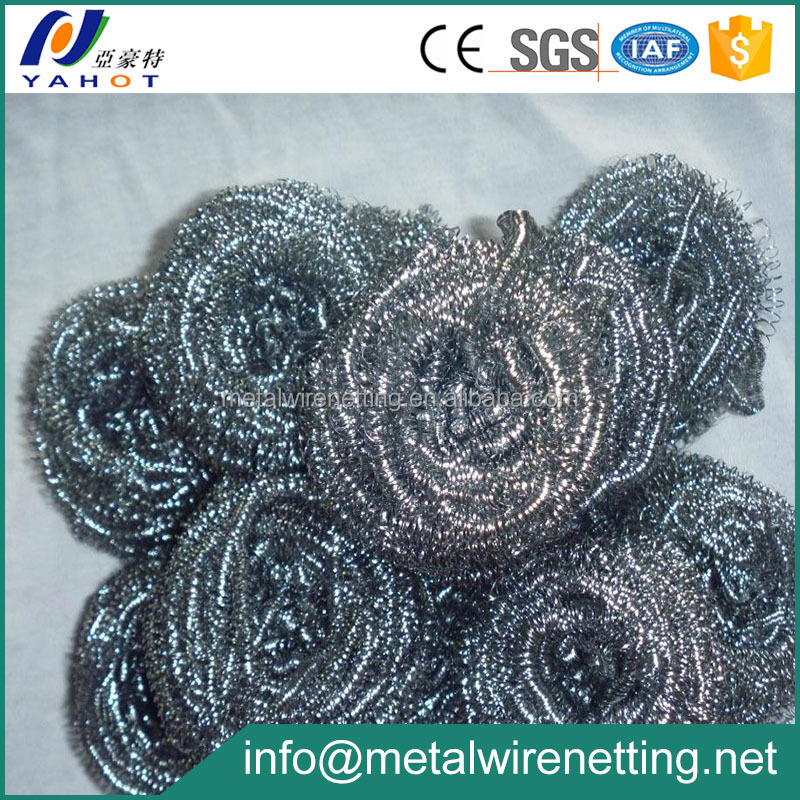 Galvanized Wire Dish Washing Scourer