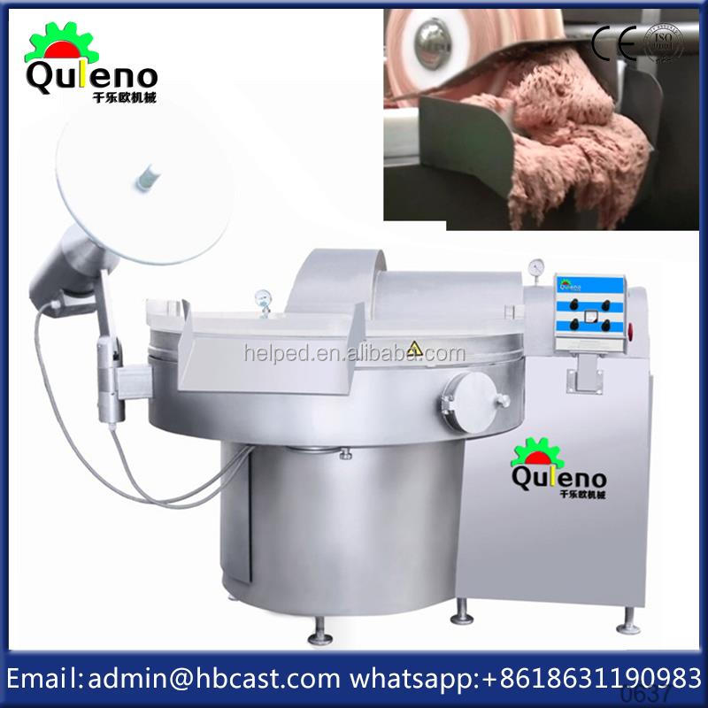 Automatic Water Feeding Meat Bowl Cutter Price