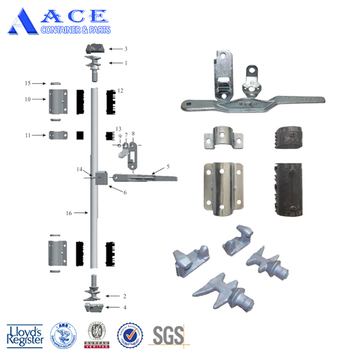 Galvanized ISO Shipping Container Door Lock Rod Parts, View shipping  container door lock parts, ACE Product Details from ACE Container & Parts  Co ,