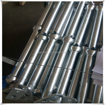 steel ball stanchion