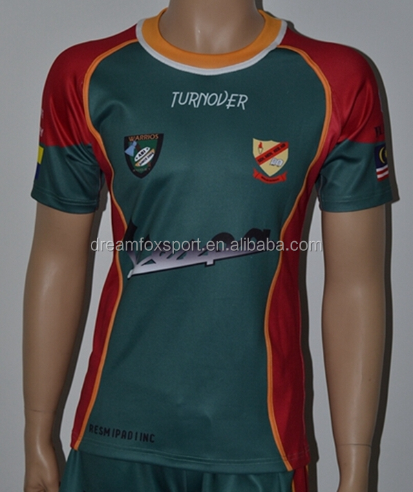 Import Sportswear China Supplier Sublimation Youth Rugby Training ...