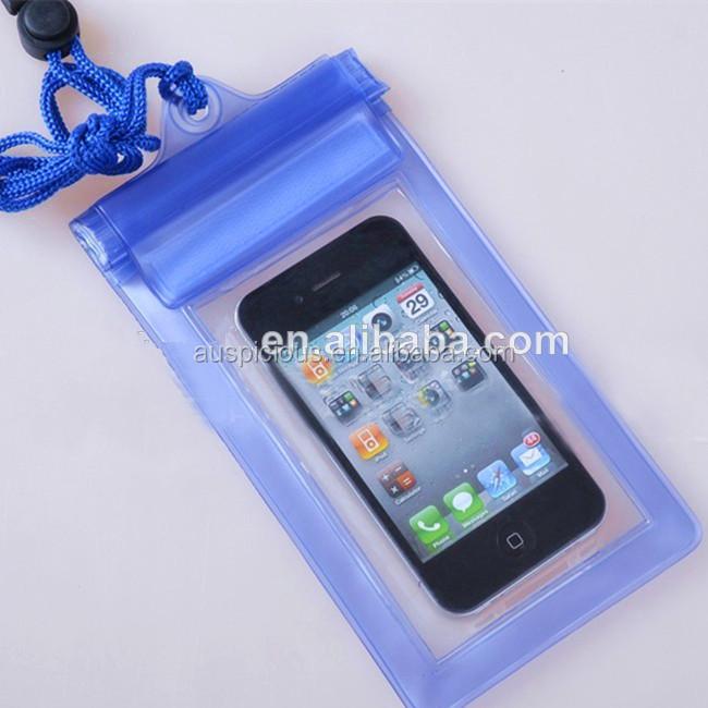 Hot Pvc Waterproof Cell Phone Bag For Zip Lock Plastic Iphone 5 5s 5c