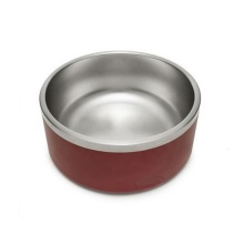 Personalizar Boomer Bacia Do Cão Inoxidável Paredes Duplas Food-Grade <span class=keywords><strong>Pet</strong></span> Feeder