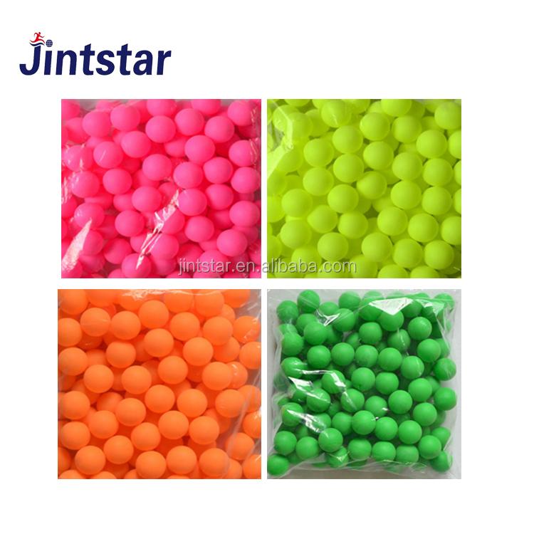 Cheap Custom color black green pink blue pingpong ping pong balls table tennis balls