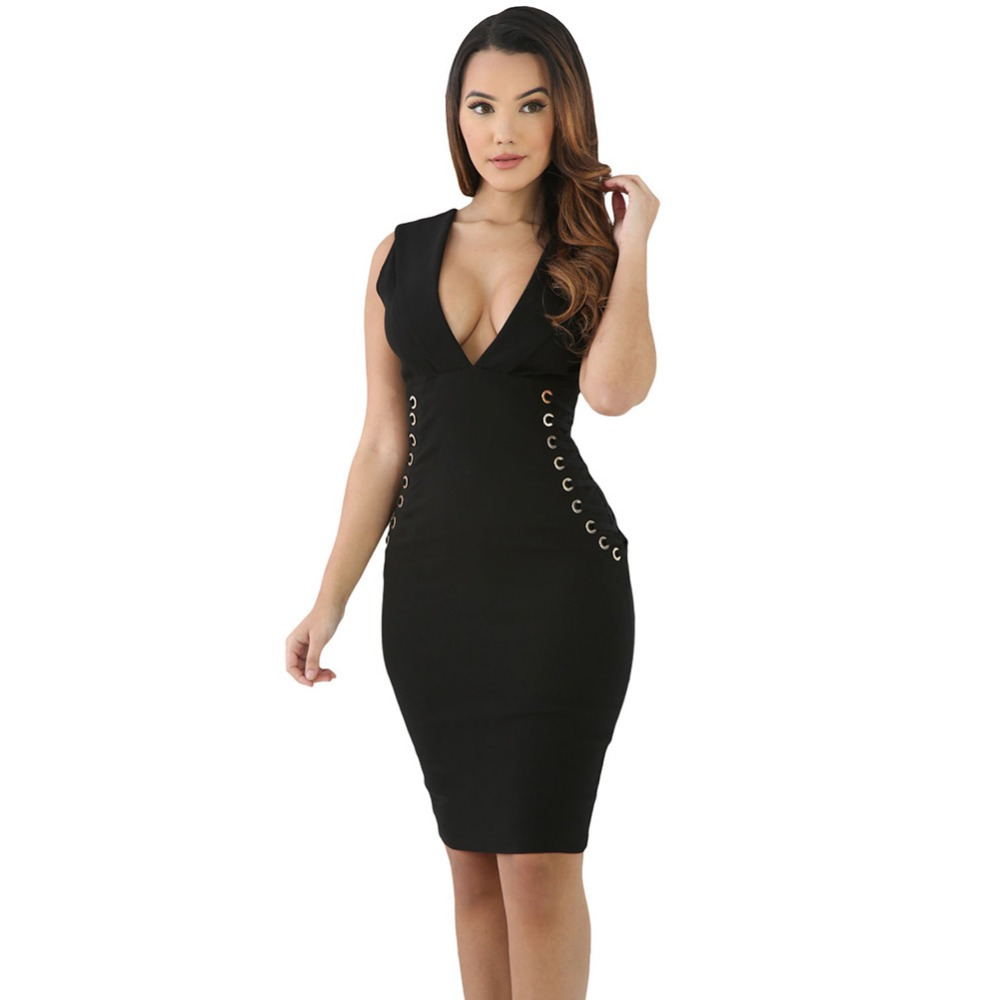 Form Red Lace It Sideways Bodycon women mini dress