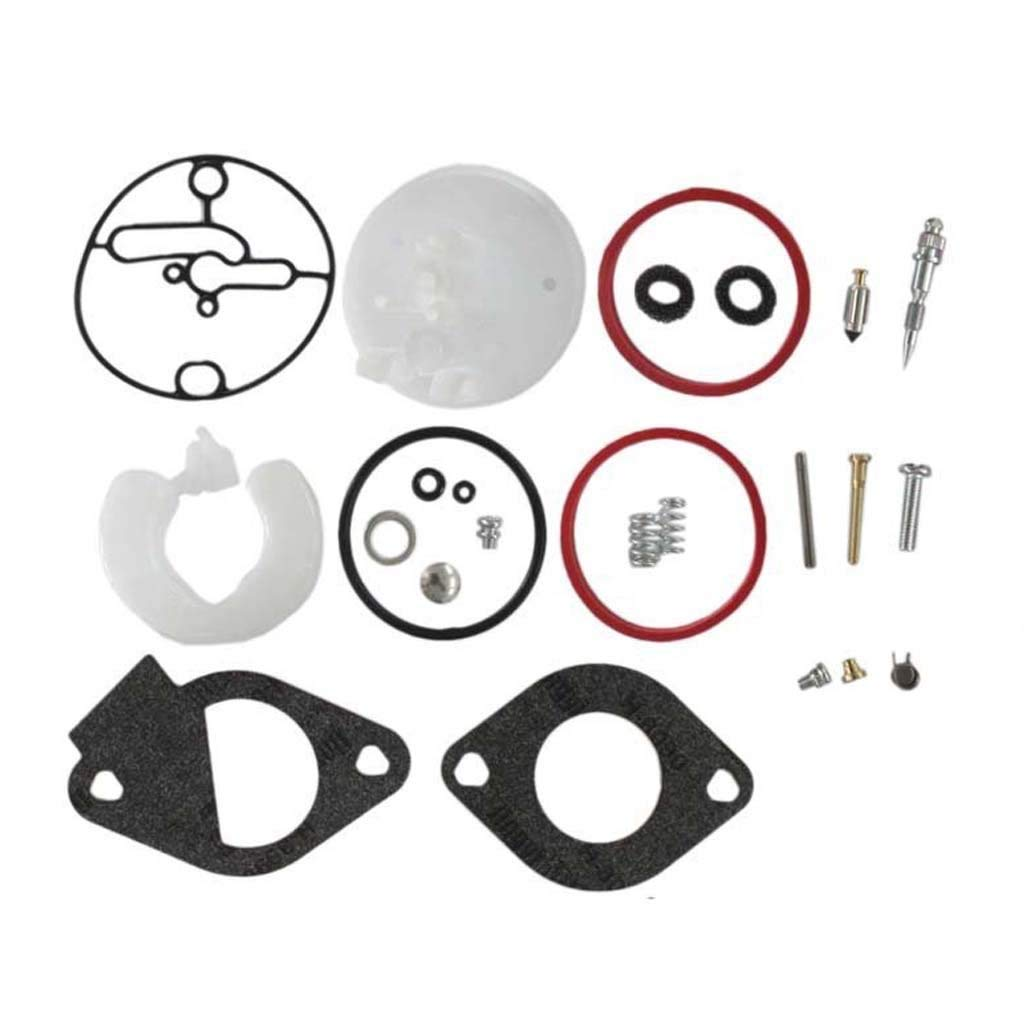 HURI Carburetor Repair Rebuild Kit for Briggs & Stratton Master Overhaul Nikki Carbs 796184 11HP to 19HP Engines