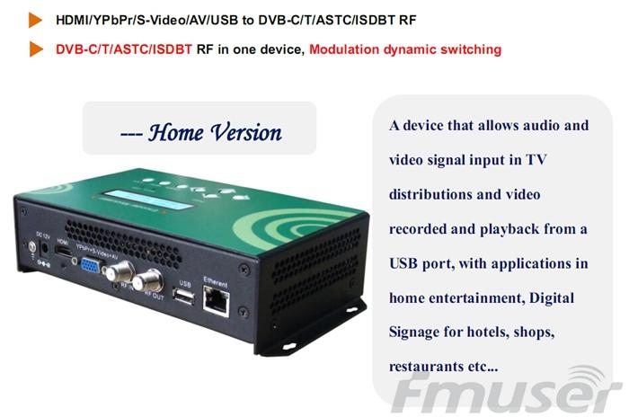 futv4658 dvb c qam dvb t atsc isdbt mpeg 4 avc hd encoder modulator tuner hdmi ypbpr. Black Bedroom Furniture Sets. Home Design Ideas