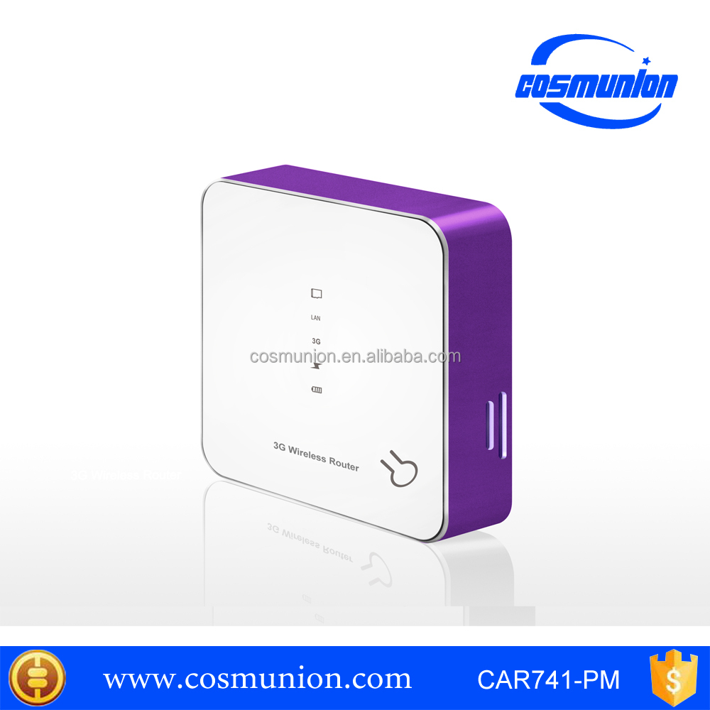 Portable Mini 3G Wifi Router / Wireless 3G /4G Hotspot RJ45 Support 3G USB Modem with Sim Card Slot Wi fi Router