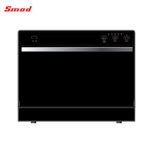 Black color table top dish washer