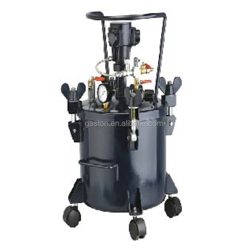 Automatic Agitating Pressure Tank Pneumatic mixing paint tank air /pneumatic pressure quality paint pot/tank