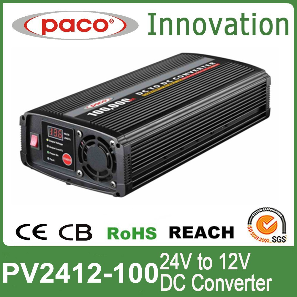 24v to 12v dc converter 100amp 1000watt with CE ROHS EN ISO certificated