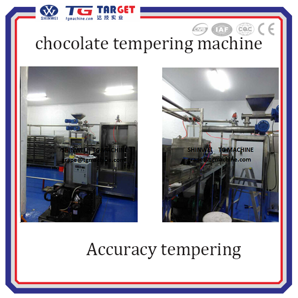 QT500 advanced chocolate melting and tempering machine