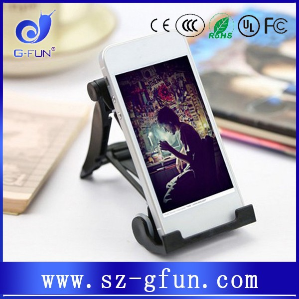 Creative Cheap and practical mobile phone/ tablet PC holder for desk
