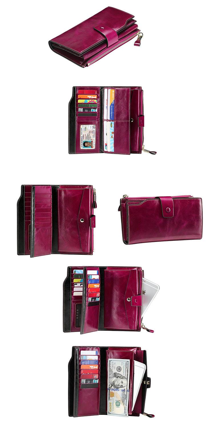 0b46f0d4742c7 Großhandel trendige portemonnaies fabrik kohlefaser niedrigen preis  kartenhalter brieftasche frauen reise handy brieftasche
