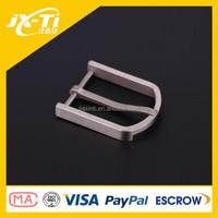 Ultralight square pure titanium metal belt buckle for female