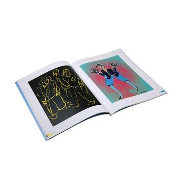 New design fashion softcover book customized fine art printing service