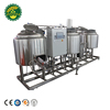 200l Micro Brewery Equipment For Draft Beer / Beer Brewing System With Hight Quality