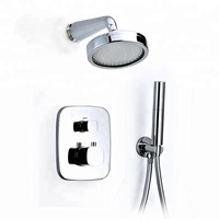HIMARK in wall thermostatic bathroom shower faucet