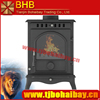 BHB 110kg net weight wood burning stove cast iron stove