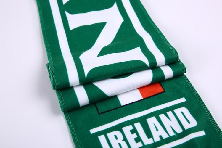 Хип новый дизайн Ирландии печати модное Флис Шарф