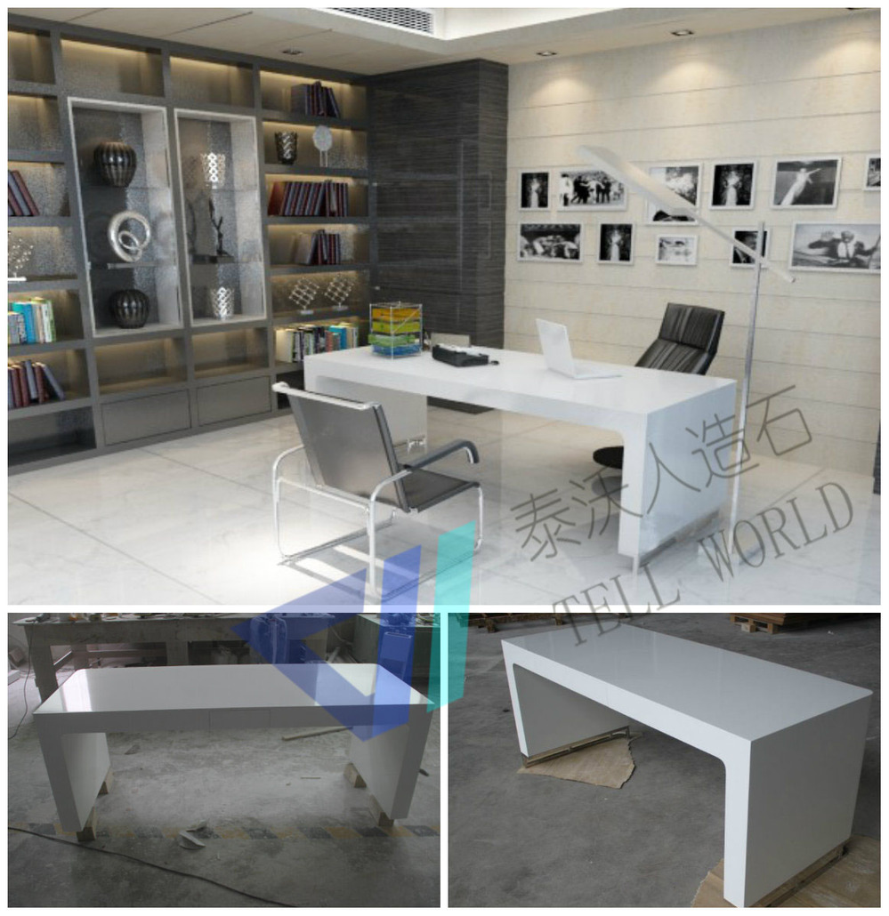 modern home office featuring glossy white. Office Study Desk. Functional White Modern Desk/study Desk/computer Desk Home Featuring Glossy K