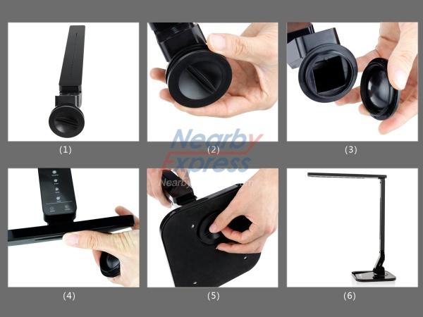 TaoTronics Elune TT-DL01 LED Table Lamp USB Charging - Taotronics Elune Tt-dl01 Led Table Lamp Usb Charging - Buy Led