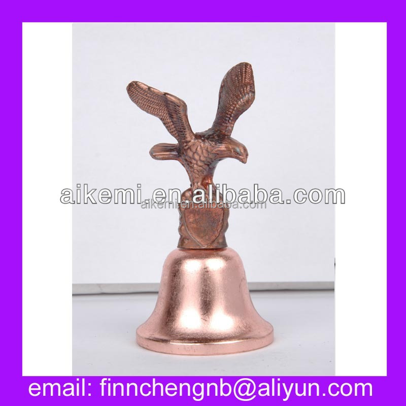 Eagle Custom Tourist Collectible Souvenir Metal Hand Bell