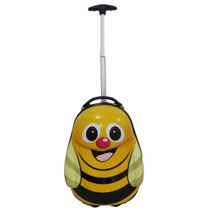 carton cute kids travel trolley bag baby care luggage suitcase