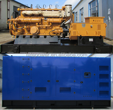 CE approved CHP 200kw natural gas generator