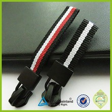 2015 high quality jacket sports woven webbing zipper pullers