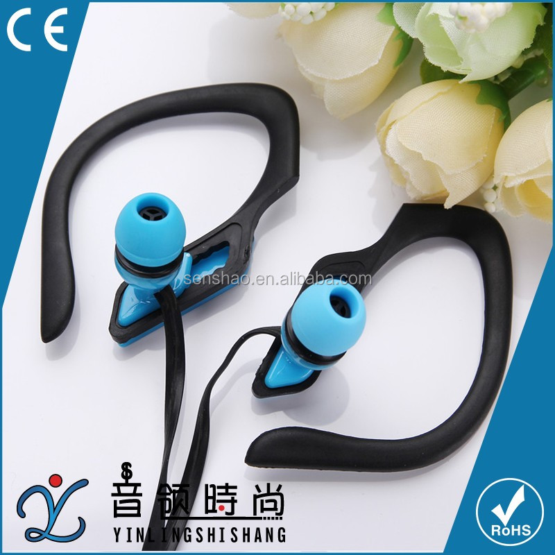 2017 Hot Selling Stereo Mini Sports Wired In-Ear Earphone <strong>Bluetooth</strong> For Mobile Phones