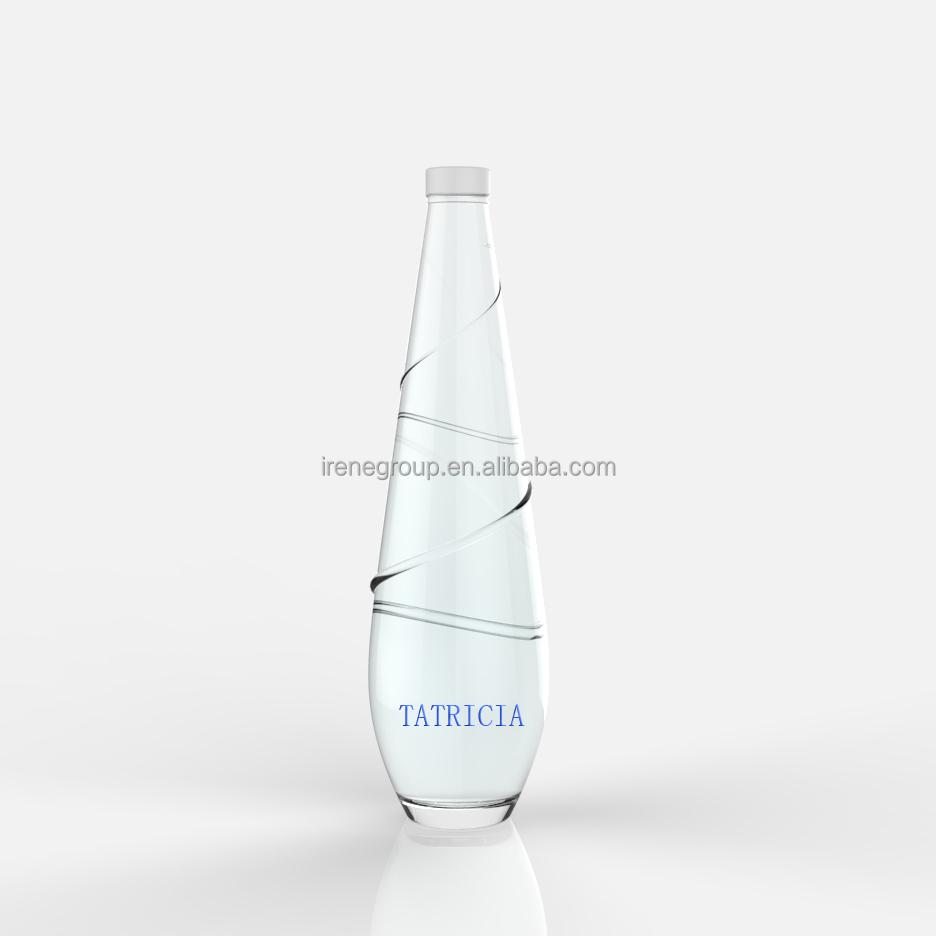 en gros nouveau design 500 ml verre cristal vide bouteille d'eau - buy  bouteille d'eau en verre 500 ml,bouteille en verre cristal,bouteille en  verre