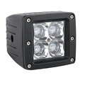 HANTU low MOQ square 12w led working light for tractor super light portable led work lamp auto accessories led worklight