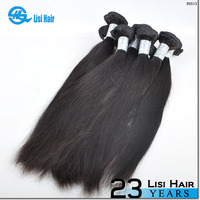 Top Grade Keep Stock Can Be Dyed Unprocessed Virgin weave hair african american course