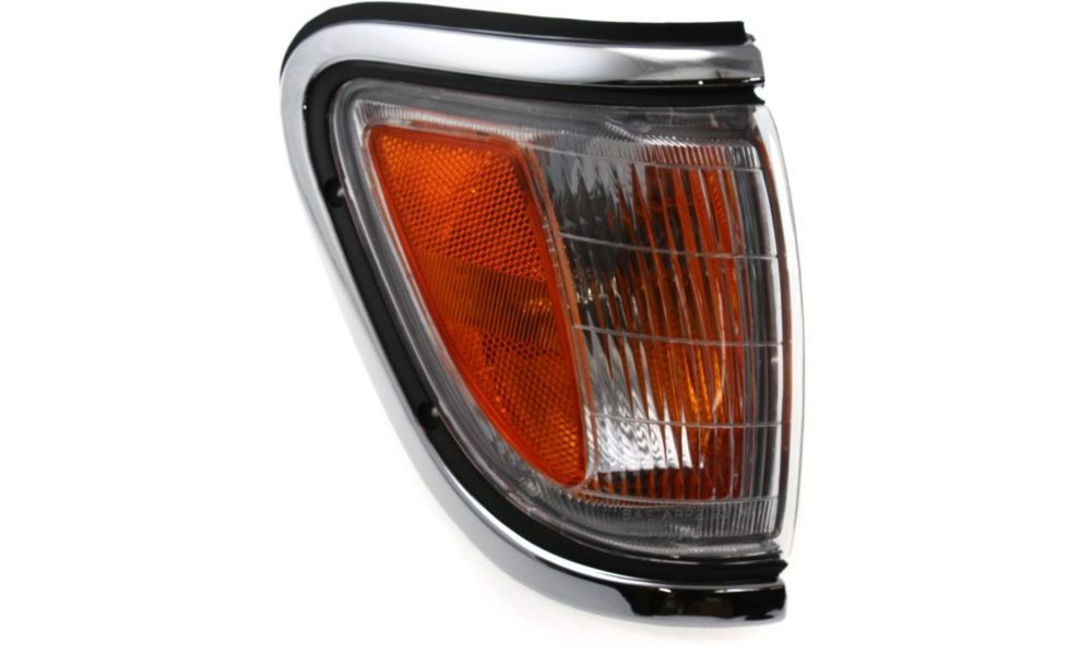 Evan-Fischer EVA20572013476 Corner Light for Toyota Tacoma 95-97 Corner Lamp RH Assembly W/ Chrome Trim 4WD Right Side Replaces Partslink# TO2521143