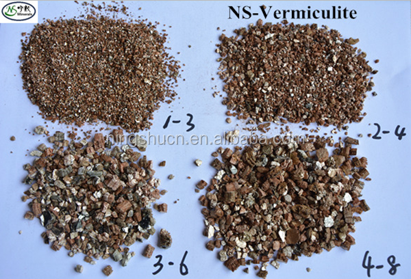 0.3-1mm Raw/unexpanded/expanded Vermiculite For Refractory Materials,Fireproof,Fireplace