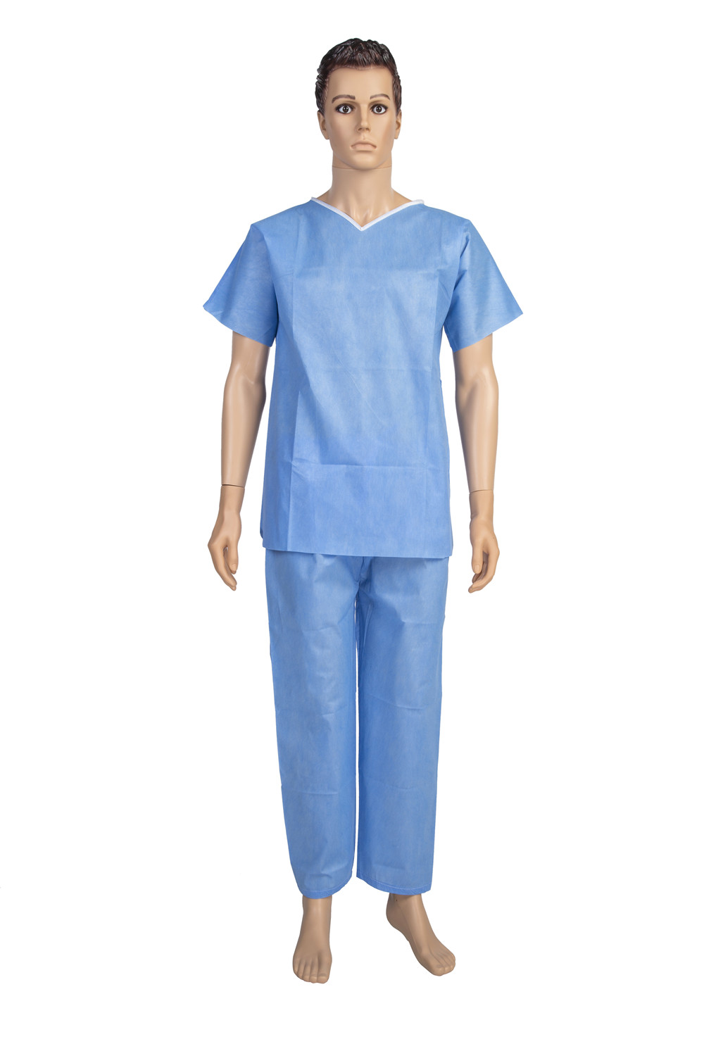 Disposable Hospital Clothing Comfortable Patient Examination Gown ...