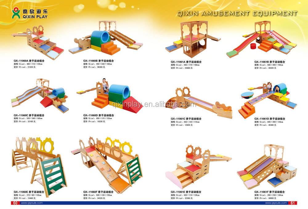 Billige Pvc Und Holz Spielzeug Aus Holz Indoor Spielplatz Für Zu Hause  Babys Modernen Weichen