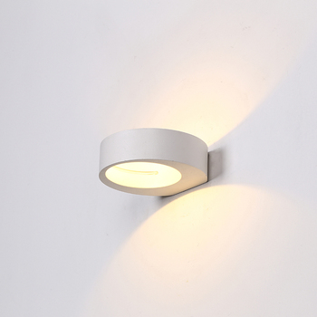 Mb3457 Wh Indoor Living Room Wall Lights Painting White Decorative Led Lighting Fixture Light Fixtures