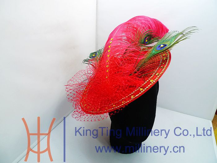wedding fascinators and hats/hair fascinators for short hair/sinamay fascinators