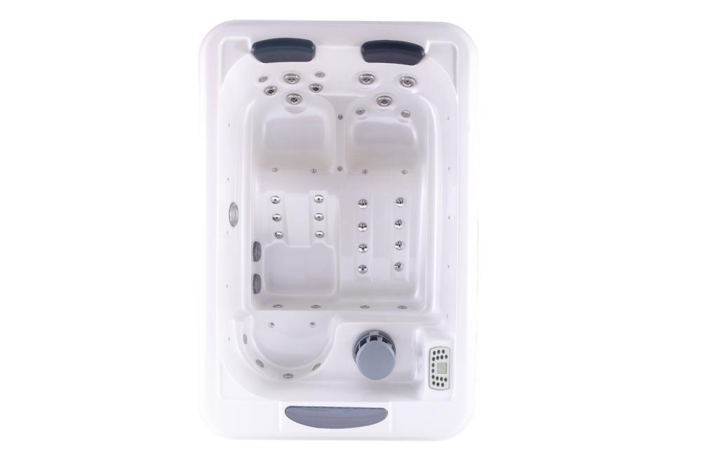 Hs-spa291y White Spa Bathtub/ 2 Person Portable Hot Tub/ Spa Tub ...