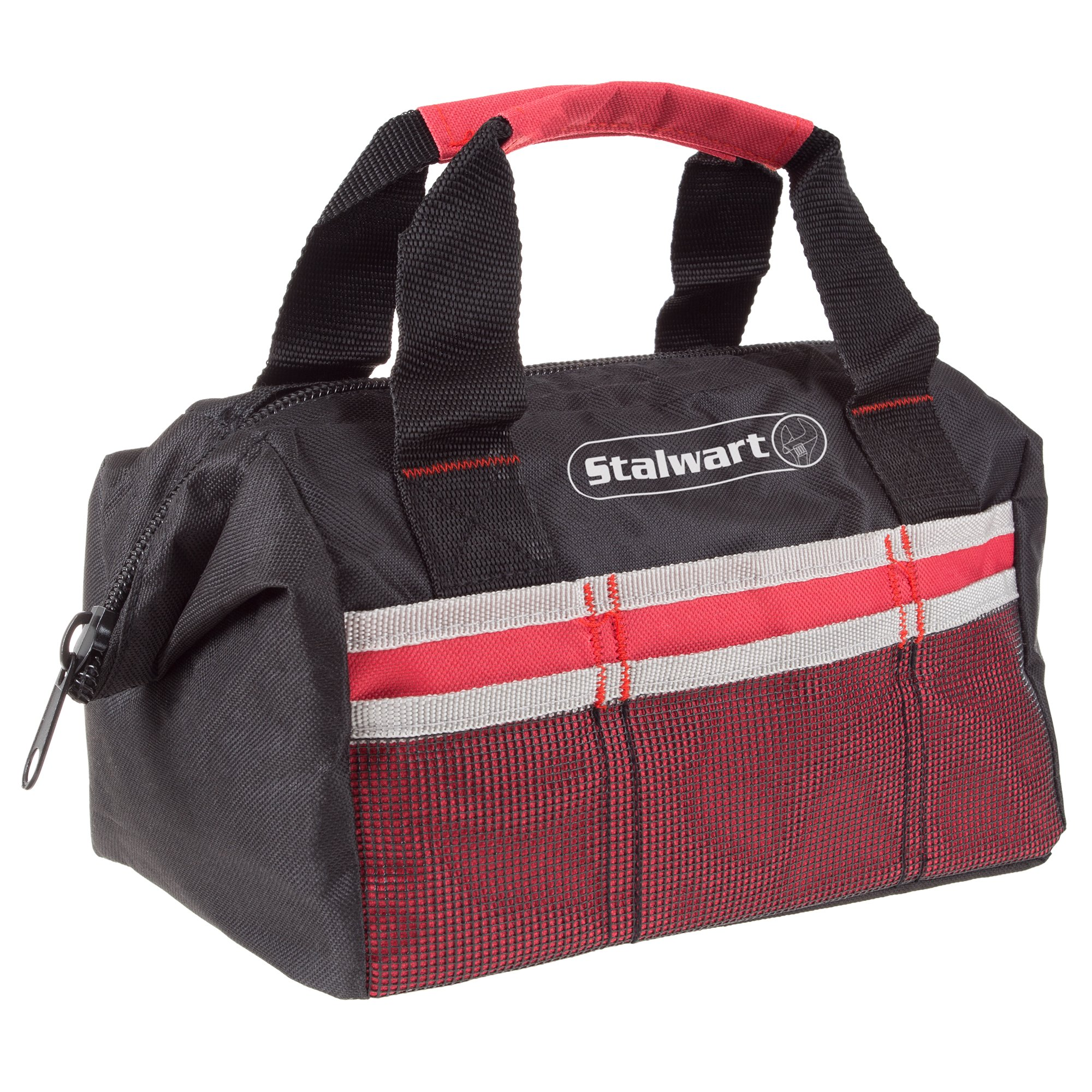 f37cc39488 Get Quotations · Soft Sided Tool Bag With Wide-Mouth Storage- Durable 12  Inch Compact Storage Pouch