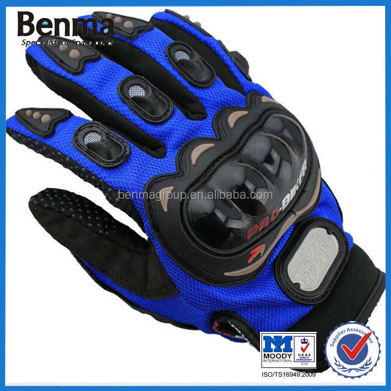 Factory Sell verious custom made motorcycle gloves